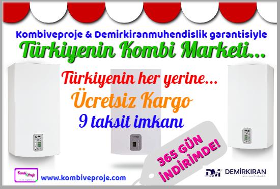 Yoğuşmalı Kombi Fiyatları 2019 - Türkiye Geneli Kombi Satışı